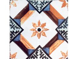 MANUAL Decor. no 10 - 13x13 - Tile, speckled cement tile look - Estilker