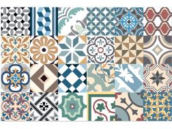 HIDRAULICO DIGITALKER HP-1 Puzzle 20x20 - Tile, speckled cement tile look - Estilker