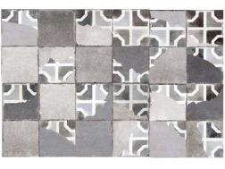 FS BRIATI DECOR 45x45 - Floor tile with cement tiles.