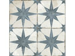 FS STAR BLUE 45x45 - Floor tile with cement tiles.