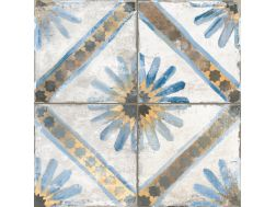 FS MARRAKECH BLUE 45x45 - Floor tile with cement tiles.