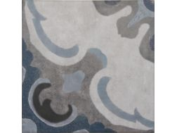 Vintage Decor 03 azul 20x20 - Tile, speckled cement tile look - Vintage Decus