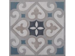 Vintage Decor 09 azul 20x20 - Tile, speckled cement tile look - Vintage Decus