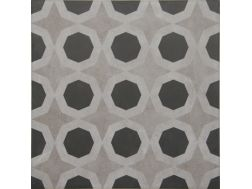Vintage Decor 08 gris 20x20 - Tile, speckled cement tile look - Vintage Decus