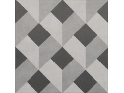 Vintage Decor 10 gris 20x20 - Tile, speckled cement tile look - Vintage Decus