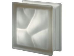 Glass block, opaque pavement - satin corrugated - SIENA Q19 O SAT  Pegasus 20 x 20