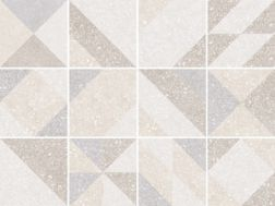 MICRO ELEMENTS TAUPE 20x20 - Tile, cement tile style, porcelain.