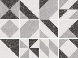 MICRO ELEMENTS GREY 20x20 - Tile, cement tile style, porcelain.