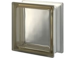 Glass block, transparent block - smooth - SIENA Q19 T Pegasus 20 x 20