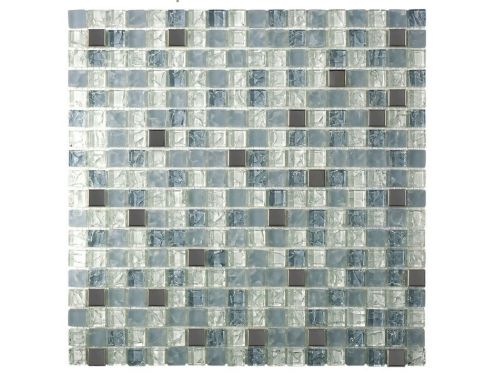 CRA005 crackle glass, Mosaic glass tile 30x30 cm. Acqualine