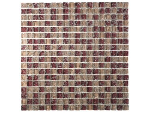 CRA004 crackle glass, Mosaic glass tile 30x30 cm. Acqualine