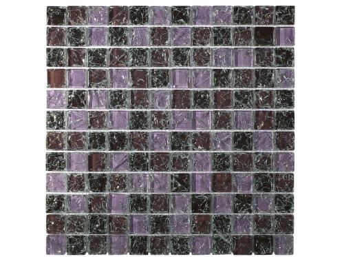 CRA012 - crackle glass, Mosaic glass tile 30x30 cm. Acqualine