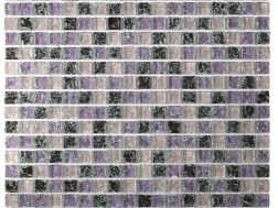 CRA009 - crackle glass, Mosaic glass tile 30x30 cm. Acqualine