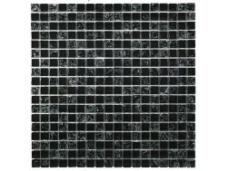 CRA006 crackle glass, Mosaic glass tile 30x30 cm. Acqualine