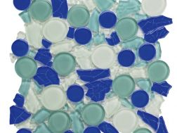 glass tile 30x30 cm. Acqualine
