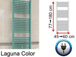 Electric towel dryer, small size and big dissension - Laguna Color SCIROCCO