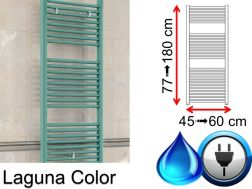 Mixed towel dryer, small and large - Laguna Color SCIROCCO