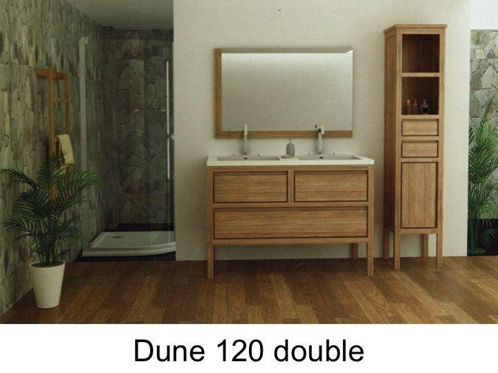 Bathroom furniture, sink, washbasins Meuble Teck - Bathroom cabinet ...