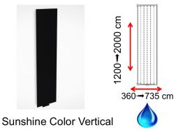 Hydraulic towel warmer, in central heating hot water - Sunshine Color Vertical SCIROCCO