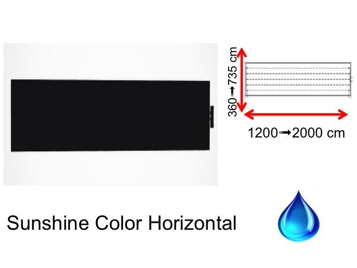Radiator, heated towel rail Sunshine - Hydraulic towel dry radiator ...