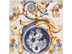 CENTRO MITOLOGIC 20x20 cm- earthenware tiles, the Oriental style, Moorish or Zellig