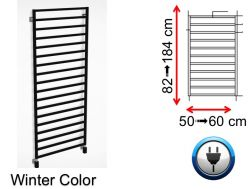 Electric towel warmer, small size and large size - Winter Color SCIROCCO