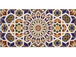 HISPALIS 15x30 cm- wall tile, in the Oriental style.