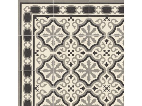 FLORENTINE WHITE 20x20 - Tiles, cement tile look - MAINZU