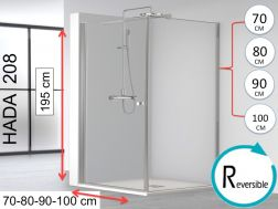Swing shower combination with fixed side - HADA
