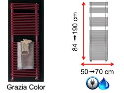 Towel Mixte, small size and large size - Grazia Color SCIROCCO