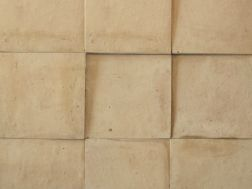 Zellij 10X10 Terra Cotta Naturel - Tiles Zelliges plain, handmade Moroccan ceramics
