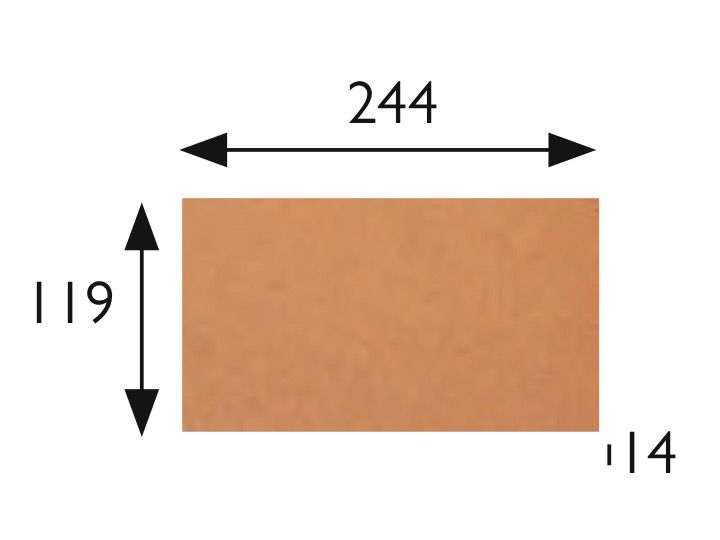Natural 40x40 - 33x33 - 25x25 - 20x20 - 16x33 - 12x25 - 6x25 - Stretched sandstone tile - Type ...