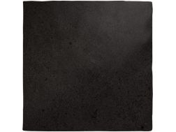 MAGNA BLACK COAL MATT 13 x 13 cm - earthenware tiles, the Oriental style, Moorish or Zellig