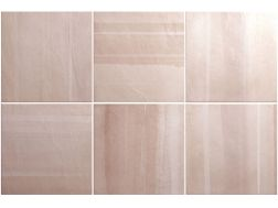 HABITAT CALA OLD ROSE 20 x 20 cm - earthenware tiles, the Oriental style, Moorish or Zellig