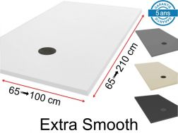 Extra-smooth non-slip shower tray - LISO