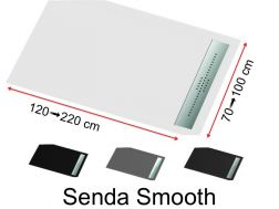 Shower tray extra flat, smooth finish - SENDA