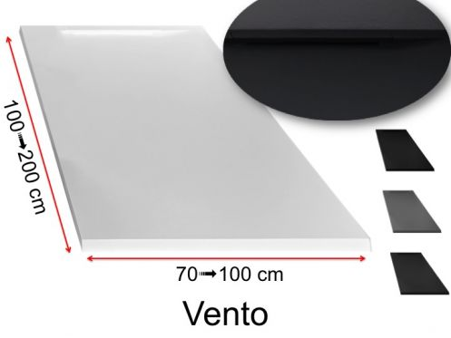 Shower tray with discreet evacuation - VENTO