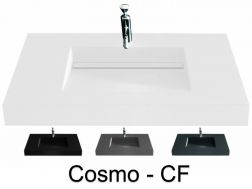Washstand, 120 x 50 cm, channel basin - COSMO CF 50