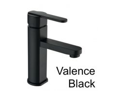 Tap mixer tap black matt, height 187 mm - SEVILLE BLACK