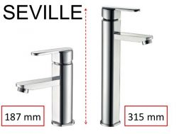 Mixer tap, height 187 or 315 mm - SEVILLE CHROME