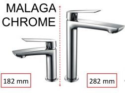 Original mixer tap, height 182 or 282 mm - MALAGA  CHROME