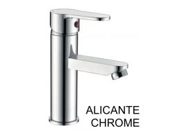 Single lever mixer tap, monobloc mixer, height 187 mm - ALICANTE CHROME