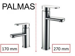 ingle lever mixer tap, single lever mixer, height 170 or 270 mm - PALMAS CHROME
