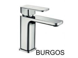 Washbasin tap, mixer, cube style - BURGOS CHROME