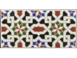 GRANADA 14x28 cm - wall tile, in the Oriental style.