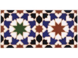 CORDOBA 14x28 cm - wall tile, in the Oriental style.
