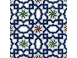 M-22 20x20 cm - wall tile, in the Oriental style.
