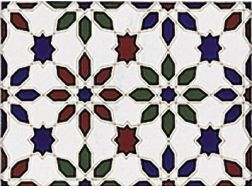 M 2 MIX 15x20 cm - wall tile, in the Oriental style.