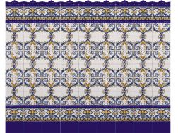 LUCENA 15x20 cm - wall tile, in the Oriental style.