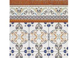 COIMBRA BEIGE 15x20 cm - wall tile, in the Oriental style.